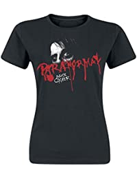 Alice Cooper Paranormal Eyes Girl-Shirt schwarz