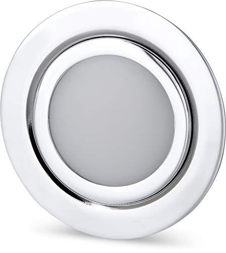 LED Slim Muebles Foco Metal IP4412V de cromo brillante–Válido en lata de...