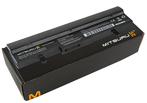 Hp-laptop-power-pack (Mitsuru® 4400mAh Notebook Laptop Akku Batterie für Asus Eee PC 1101 1101HA 1101HGO 1101HA-MU1X 1101HA-MU1X-BK 105VWTC 1001 1001HA 1001P 1001PQ 1001PQD 1101HA-M R101 R101-WHI001S 1001PX 1001PX-BLK3X 1001PX-BLK003X 1001PX-WHI0065 1001PX-WHI002X ersetzt Asus 0-OA001B9000 0B20-00KA0AS 70-OA1B1B2100 90-OA001B9100 90-XB16OABT00000Q AL32-1005 ML31-1005 PL32-1005 TL31-1005 AL31-1005 90-OA001B9000 90-XB0ROABT00000Q 90-XB2COABT00000Q ML32-1005 990AAS168288)