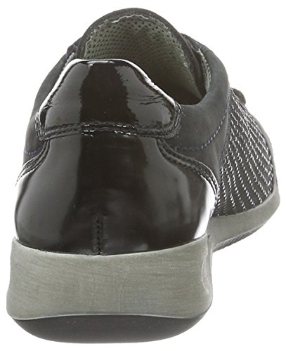 Ara 12-34453-21, Chaussures à Lacets Femme Blau (blau,schwarz 06)