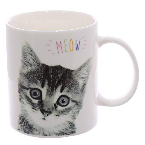 Tasse Becher Kaffeebecher Teetasse Katze Stubentiger Meow -