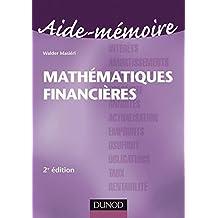 Aide-Mémoire de Mathématiques financières - 2ème édition (Entreprise Gestion et Management) (French Edition)