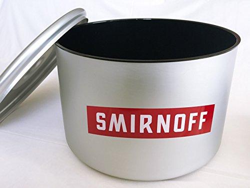 Smirnoff Edelstahl Eisbox 10l