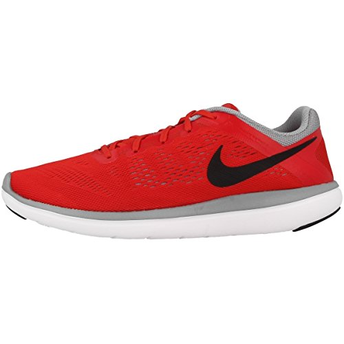 Nike Jungen 834275-008 Turnschuhe, rot 38,5 EU - Jungen Sneakers Rot Nike
