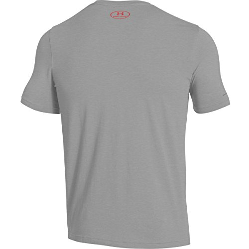 Under Armour Herren Fitness Cc Left Chest Lockup Kurzarm T-Shirt,  (), 0 Grau
