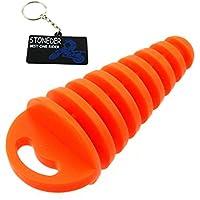 Tapón para tubo de escape STONEDER, de goma suave y resistente, para todoterreno de 2 marchas, quad, moto, scooter, etc.