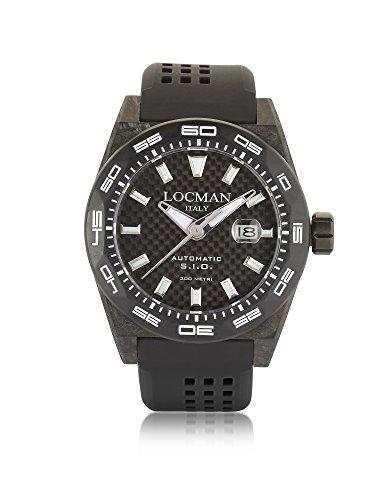 LOCMAN Herren 0216V5cbcbnkws2k Schwarz Stahl Uhr