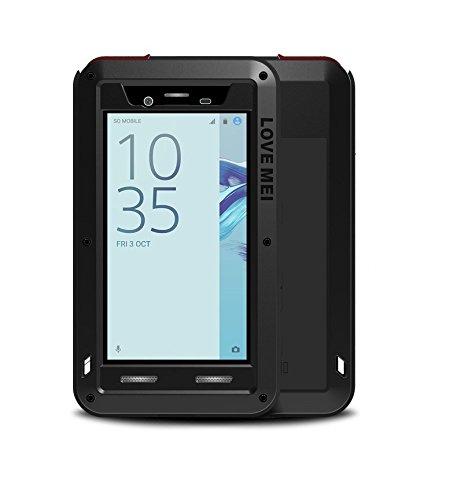 3fcb81be4d2b95 LOVE MEI Sony Xperia X Compact Coque étanche, Antichoc Housse, imperméable  en étanche Anti