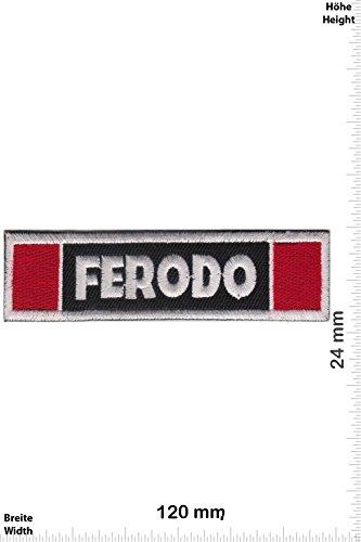 Patch - Ferodo - Bremsen - Breaks - Rennsport-Bremsbeläge - Motorsport - Motorsport - Ralley - Auto - Rennsport - Motorbike - Motorrad - Patches - Aufnäher Embleme Bügelbild Aufbügler