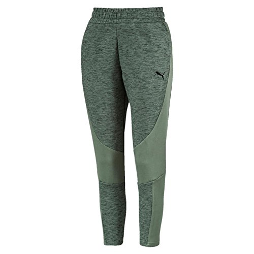Puma Damen EVOSTRIPE Pants Hose, Laurel Wreath-Heather, XL