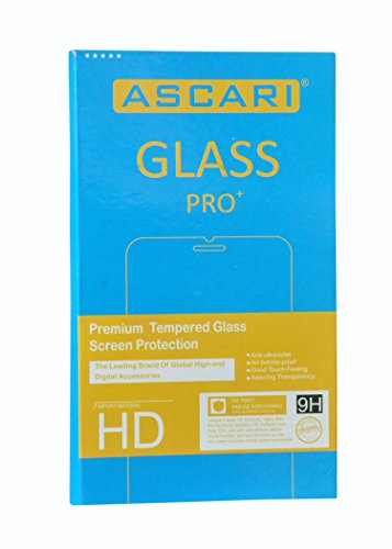 Ascari Flip Cover for Micromax Canvas Mega 4G Q417 Black Free Ascari Tempered Glass