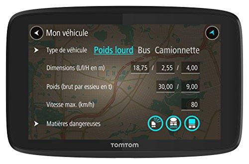 GPS TomTom Go Professional 6250 avec écran 6 pouces