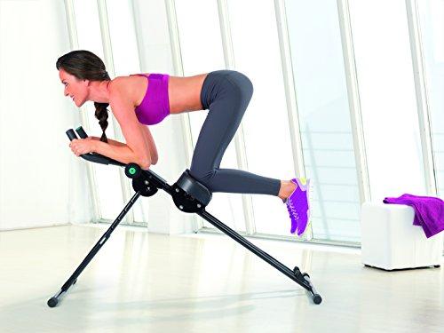TV - Unser Original Fitnessgerät Fitmaxx 5 - Bauchtrainer, schwarz, 02678200101 -