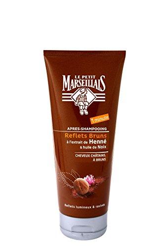 Le Petit Marseillais Après Shampooing Reflets Cheveux Châtains à Bruns Lot de 2