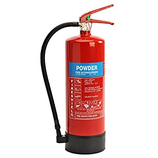 Powder Fire Extinguisher - 6KG ABC Dry Powder Extinguisher FireShield PRO