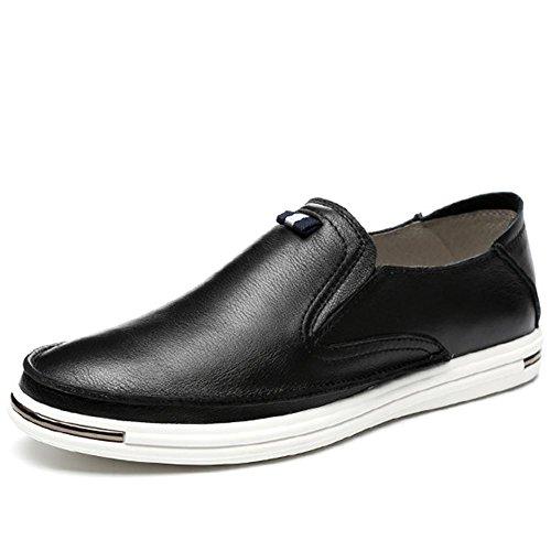Cuir véritable mode automne hiver de hommes chaussures personnalité extérieure Casual chaussures