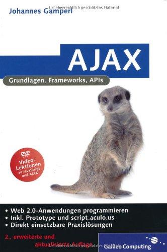 AJAX. Grundlagen, Frameworks, APIs Buch-Cover