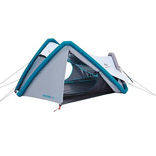 Quechua Campingzelt AIR Seconds 2 XL Fresh & Black 8384158 für 2 Personen in Weiss