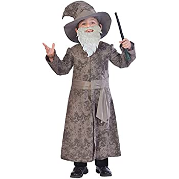 8-10 Yrs 4 styles robe hat Childrens 140cm FANTASY WIZARD
