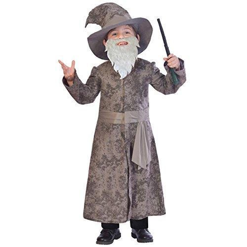 Weiser Zauberer - Gandalf Dumbledore Kostüm Kinder Jungen Amscan (Zauberer-kostüm Für Jungen)