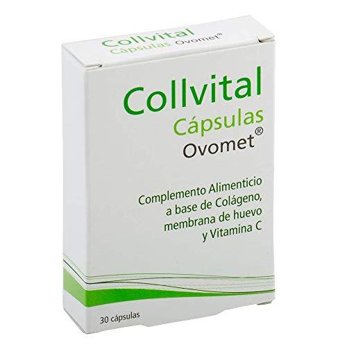 Collagene idrolizzato + acido ialuronico + vitamina C + zinco e magnesio + OVOMET in capsule. Alta concentrazione 1 capsula singola al giorno, antinfiammatorio naturale, analgesico naturale e rigeneratore articolare