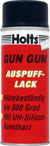"""Preisvergleich Produktbild HOLTS Auspuff-Lack """"Gun Gum"""" bis 800°C,  400 ml . schwarz Originalnummer: 0191"""