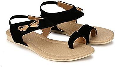 GrienYrus Women's Butterfly Look Backstrap Fashion Sandal