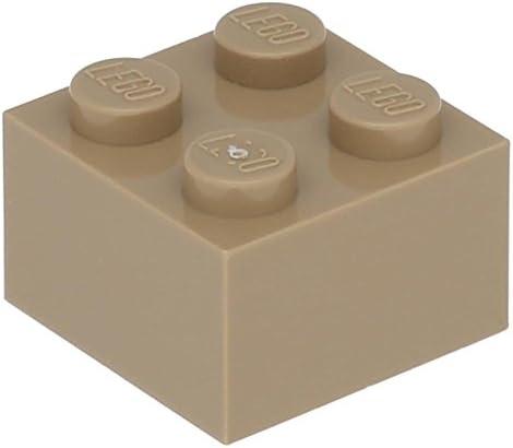 Lego 5 x Brick 2 x 2 Dark Tan Tan Tan B0733C73YC c251c8