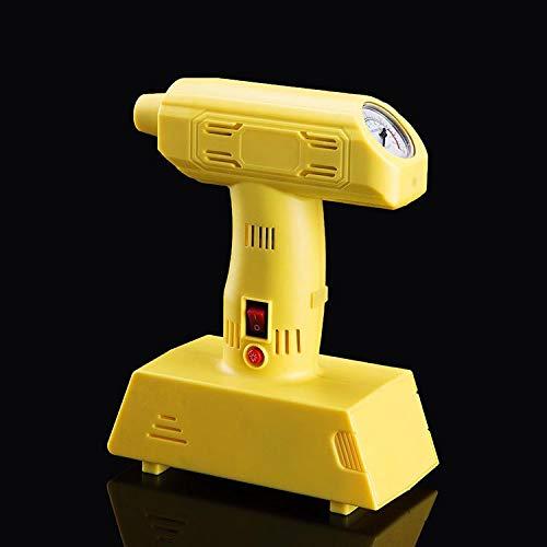 Balscw Portable Auto luftpumpe-Auto Reifen Elektrische pumpe-12 V hochdruck Metall luftpumpe für Autos, fahrräder, aufblasbare betten, bälle, Yellow