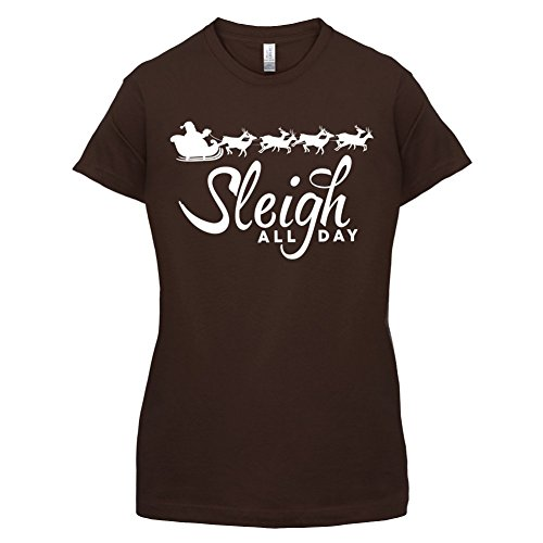 Sleigh All Day - Damen T-Shirt -
