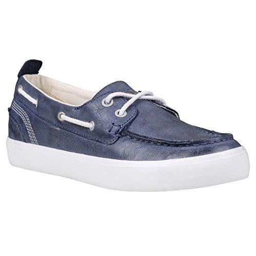 Timberland Brattleboro, Chaussures de Voile Femme bleu