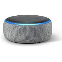 Echo Dot (3rd Gen) – New and improved smart speaker with Alexa (Grey)