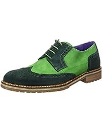 WENJHEN - Zapatos de cordones para hombre, color azul, talla 39 EU
