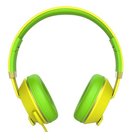 Havit HV-H2171D Headphones (Yellow/Green)