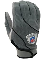 ReebokRF9029 NFL WEB II COL Gants de football américain Gris Taille S