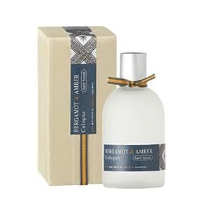 Bath House Bergamot and Amber Mens Cologne 100ml