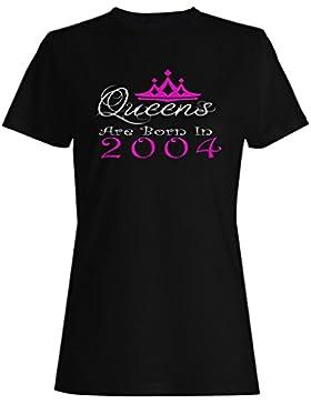 Queens nacieron en 2004 camiseta de las mujeres y50f