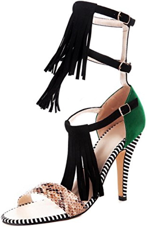 les femmes des des des couleurs assorties ou agoolar talons bout ouvert boucle sandales b01hen8gpg parent | Exquis (en) Exécution  f928a7
