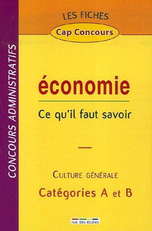 Economie : Ce qu'il faut savoir