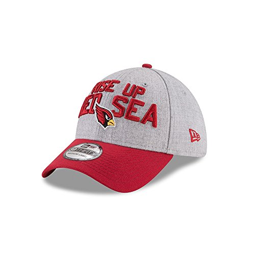 New Era NFL ARIZONA CARDINALS Authentic 39THIRTY Onstage Draft 2018 Stretch Fit Cap