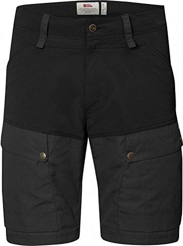 keb-fjllrven-da-uomo-pantaloncini-da-trek-king-nero-blackdark-grey-46-da-uomo