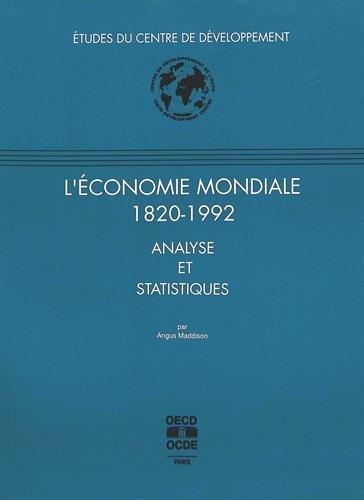 L'économie mondiale 1820-1992