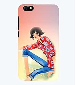 PRINTSWAG BEAUTIFUL GIRL Designer Back Cover Case for HUAWEI HONOR 4X