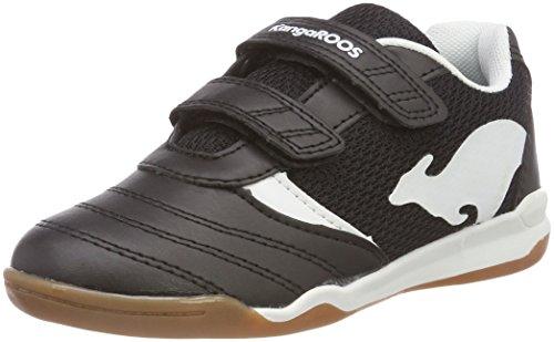 KangaROOS Unisex-Kinder Chelo Comb V Sneaker, Schwarz (Jet Black/White), 32 EU