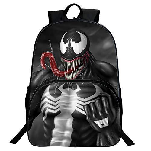 Mochila Para Niños Hombre Wei Venom Patrón Mochila Hero Avengers Mochila Ultraligera Mochila Para Niños