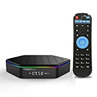 GMAX T95Z Plus Android 7.1 TV BOX 3GB 32GB 4K Amlogic 64bit Octa-core Ultra HD Smart Set Top Box, Supports 2.4G/5G Dual Wifi 1000M LAN Ethernet Bluetooth 3D