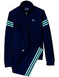 adidas Teamsport Suit - Chandal para mujer, color azul, talla M