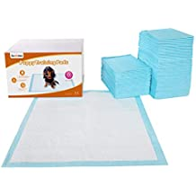 FEANDREA 100 Unidades Empapadores Toallitas Pañales Almohadillas de Entrenamiento para Mascotas Absorbente 60 x 60 cm