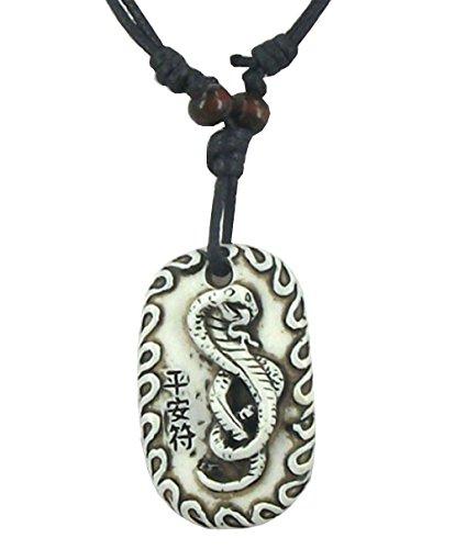 Arme Harz (Halskette Mit AnhäNger Arme Mit Chinesischen Schlange Harz Gradienteneffekt Geschenkidee FüR MäNner, Frauen)