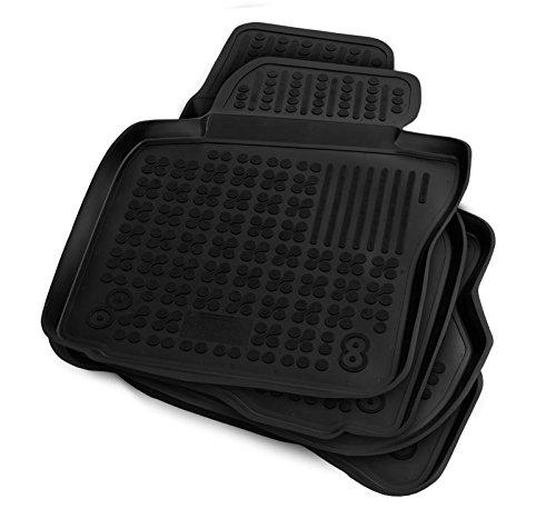Preisvergleich Produktbild AZUGA Rezaw-Plast Gummi Fußmatten mit hohem Rand fahrzeugspezifische Automatten